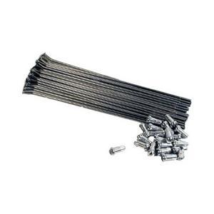 """Bulldog Stainless Steel FRONT Spoke Kit for Stock 17"""" Wheel 33-9610"""