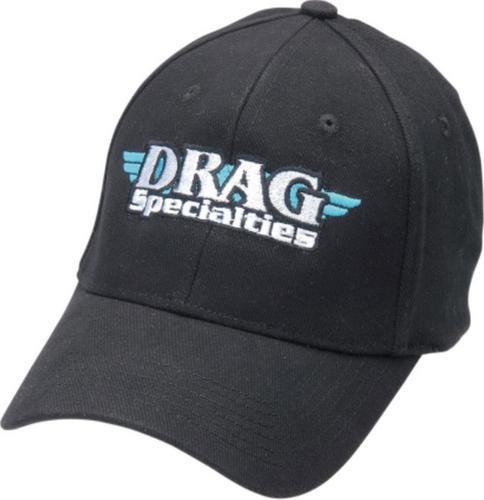 Drag Specialties Drag Specialties Hat (Black, OSFM)