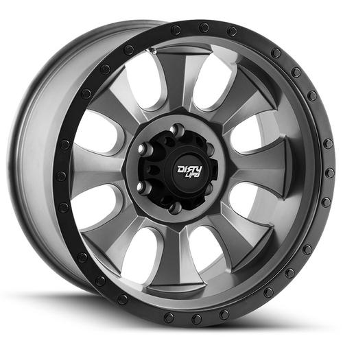 "4-Cali Off-Road 9300 Ironman 20x9 8x170 +0mm Gunmetal/Black Wheels Rims 20"" Inch"