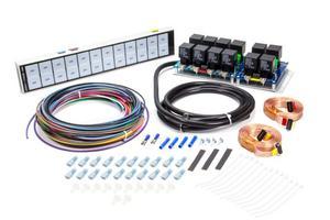 AUTO ROD CONTROLS Roll Bar Mount Model 12000 Switch Panel P/N 12000R