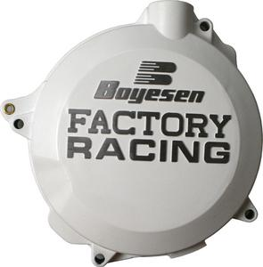 Boyesen White Factory Clutch Cover For KTM Husqvarna 250 350 CC-44CW