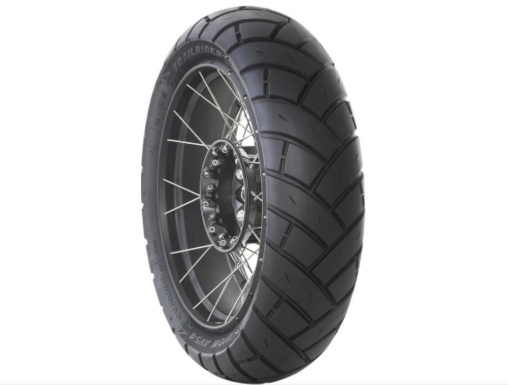 Avon Tyres 4240414 TrailRider Adventure Sport AV54 Rear Tire - 150/70R17