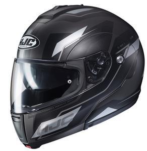 HJC CL-Max III Flow Helmet Semi-Flat Black (MC-5SF) (Black, Large)