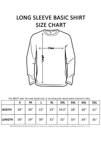 Men's/Unisex Biker Rebel Til I Die Skull ROYAL Long Sleeve T-shirt (Small)