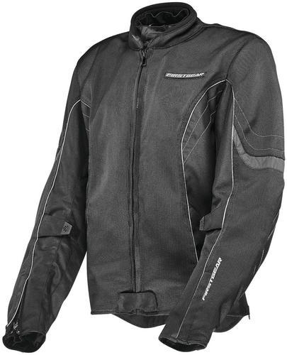Firstgear Contour Air Womens Jacket (Black, X-Small)