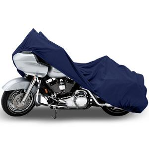 "Superior Travel Dust Motorcycle Cruiser Cover Covers : Fits Up To Length 107"" - All Cruiser Bikes Metric Touring Harley Davidson Yamaha Honda Suzuki Kawasaki Ducati Bmw Aprilia Triumph Buell"