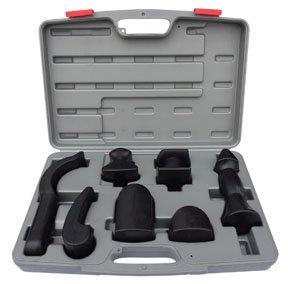 ATD Tools 7 Pc Rubber Coated Dolly Set (ATD-4007)
