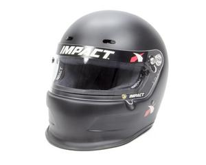 IMPACT RACING X-Large Flat Black Charger Helmet P/N 14015612