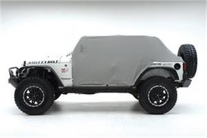 Smittybilt 1159 Cab Cover For 76-86 CJ7 Water Resistant w/o Door Flaps Gray