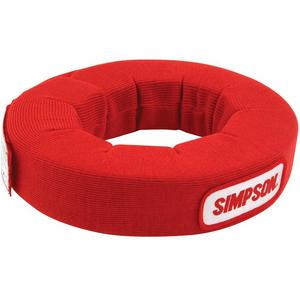SIMPSON SAFETY Red SFI-3.3 Neck Support P/N 23022RD
