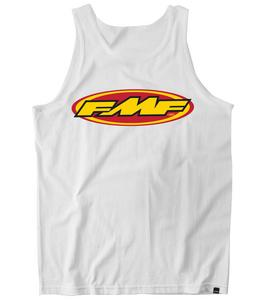 FMF Racing The Don Tank Top (White, X-Large)