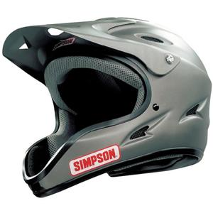 SIMPSON SAFETY Matte Black Medium Pit Warrior Helmet P/N 1450028