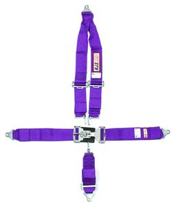 RJS SAFETY Purple Bolt-On 5 Point Latch and Link Harness P/N 1126208