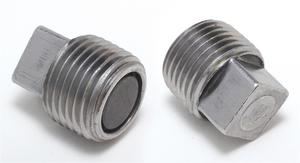 """Trans-Dapt Performance 1/2"""" NPT Magnetic Drain Plug for Oil and Transmission Pan"""