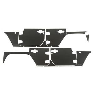 Rugged Ridge 12300.53 Magnetic Protection Panel Kit Fits 07-18 Wrangler (JK)