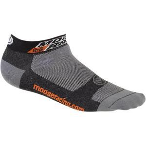 Moose Racing Casual Low Sock (Gray, Large - X-Large)