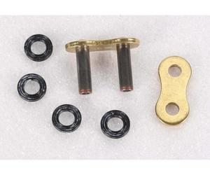 JT Drive Chain JTC520Z1RRL Rivet Connecting Link for 520 Z1R Super Heavy Duty X-Ring Drive Chain - Gold