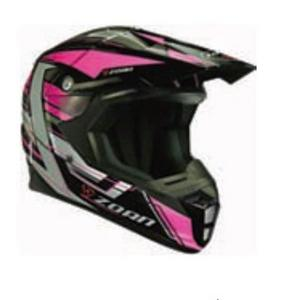 Zoan Synchrony MX Race Equipe Graphics Helmet (Pink, X-Small)