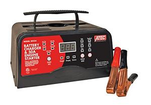Associated Equipment 6/12 Volt Full_Rate Portable Smart Charger with 50A Engine