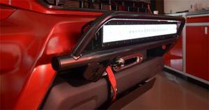 N-Fab C1430OR Off-Road Light Bar Multi-Mount System Fits 14-15 Silverado 1500