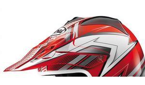 Arai Helmets 092127 Visor for VX-Pro3 Helmet - Nitrous Red