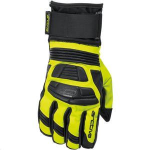 Arctiva Rove Gloves Black/Hi-Viz (Yellow, Large)