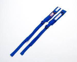 RJS SAFETY Blue SFI 3.3 Arm Restraint Harness 2 pc P/N 11000303