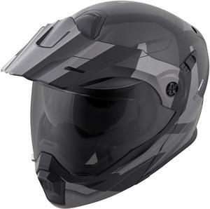 Scorpion EXO-AT950 Modular Neocon Dual Sport Motorcycle Helmet Silver XS