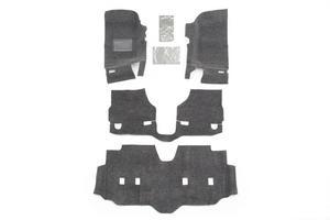 BedRug BRJK07F4 BedRug Floor Kit Fits 07-18 Wrangler (JK)