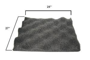 Amcon 7200-78085 Egg Crate Hood Foam