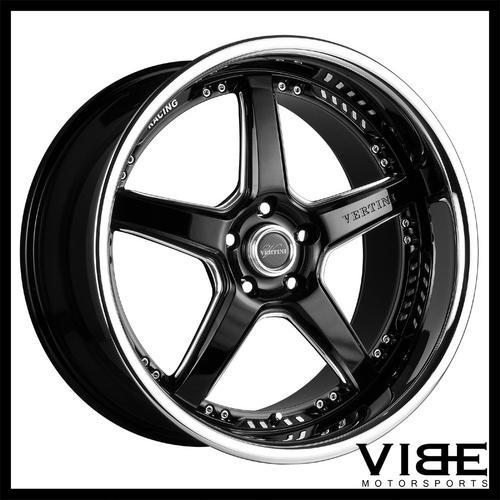 19 Vertini Drift Machined Five Star Wheels Rims Fits Nissan 370z