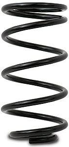 """AFCO RACING 5.5"""" OD x 12"""" Long 200 lb Black Conventional Spring P/N 25200SS"""