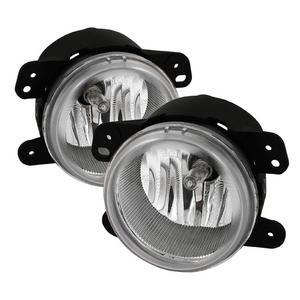 Spyder Auto 5015372 Fog Lights; Bulbs Included; Pair; Clear;