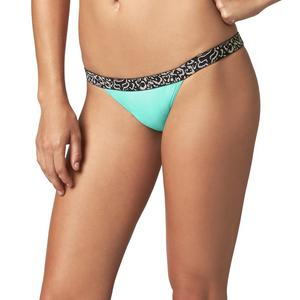 Fox Vapors Skinny Womens Elastic WB Bottom Sea Foam (Green, X-Large)