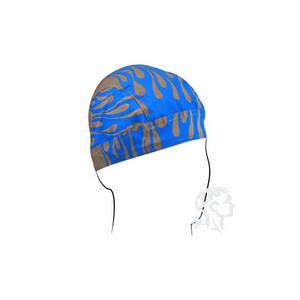 Zan Headgear FlyDanna Blue Flames Bandanna Z688