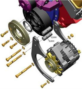 Powermaster 895 Low Mount Bracket