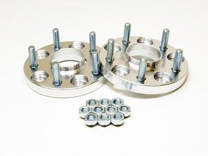 2pc 15mm Silver JDM Wheel Spacers w/ Hubcentric Lip 5x4.5 TO 5x4.5 66.1 CB