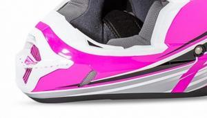 Fly Racing 73-4789 Mouthpiece for Kinetic Fullspeed Helmet - Pink/Black/White