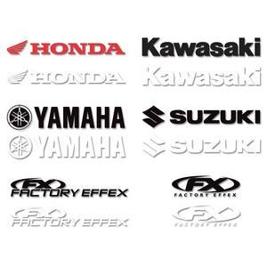 Factory Effex 1' Die-Cut Sticker FX Horizontal (white)