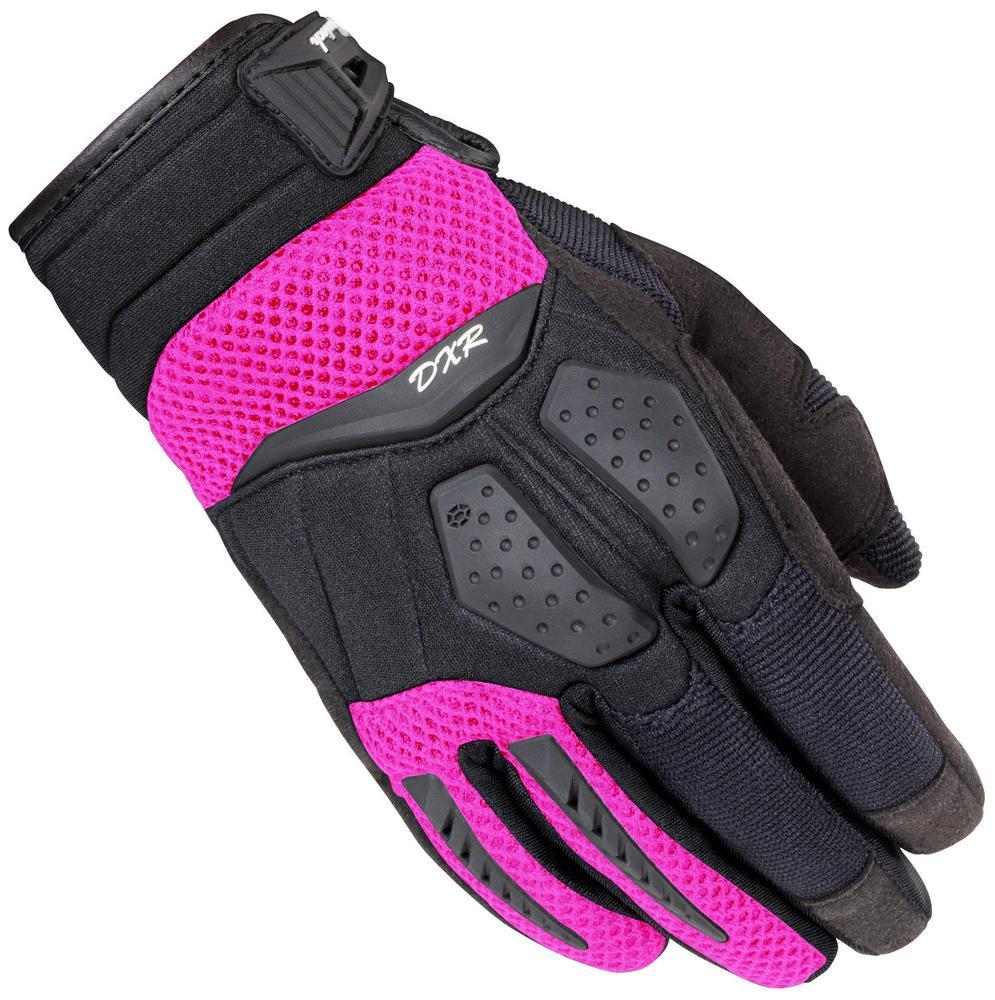 Cortech DXR Womens Gloves Black/Pink (Black, Small)