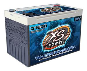 XS POWER BATTERY 675 Cranking Amps 16 V D-Series AGM Battery P/N D1600