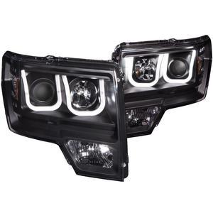 Anzo USA 111263 Projector Headlight Set Fits 09-14 F-150