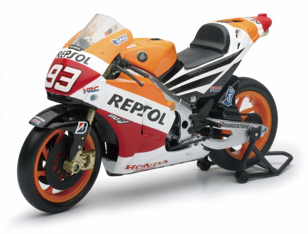New Ray Toys 57663 Street Bike 1:12 Scale Motorcycle - Repsol Honda Marc Marquez