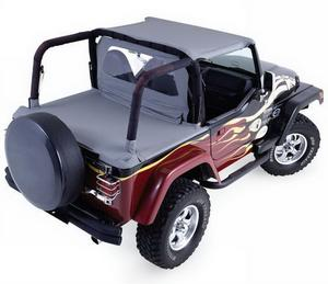 Rampage 992015 Soft Cab Top Fits 87-91 Wrangler (YJ)