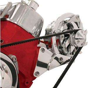 BILLET SPECIALTIES Big Block Chevy Polished Alternator Bracket Kit P/N 10620