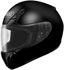 Shoei RF-SR Full Face Motorcycle Helmet Black Adult Size XS