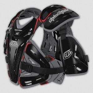 Troy Lee Designs Bodyguard Chest Protector 5955 (Black, Medium)