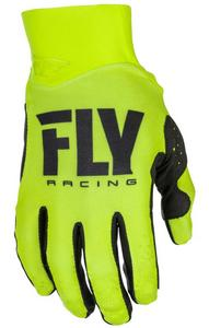 Fly Racing Pro Lite Youth Gloves (2018) Hi-Vis (Yellow, 6)