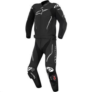 Alpinestars Atem Two-Piece Leather Suit (Black, 50)
