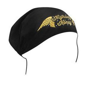 Zan Headgear Highway Honeys Womens Headwrap Wings (Black, OSFM)